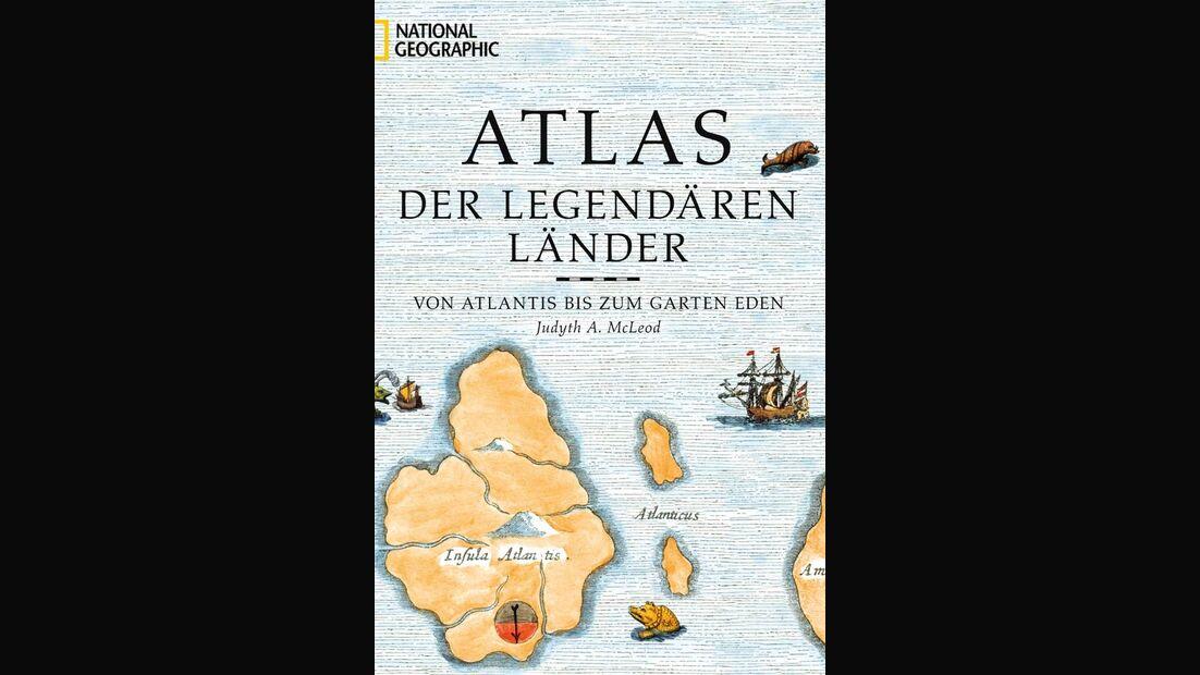 OD Atlas der legendären Länder National Geographic