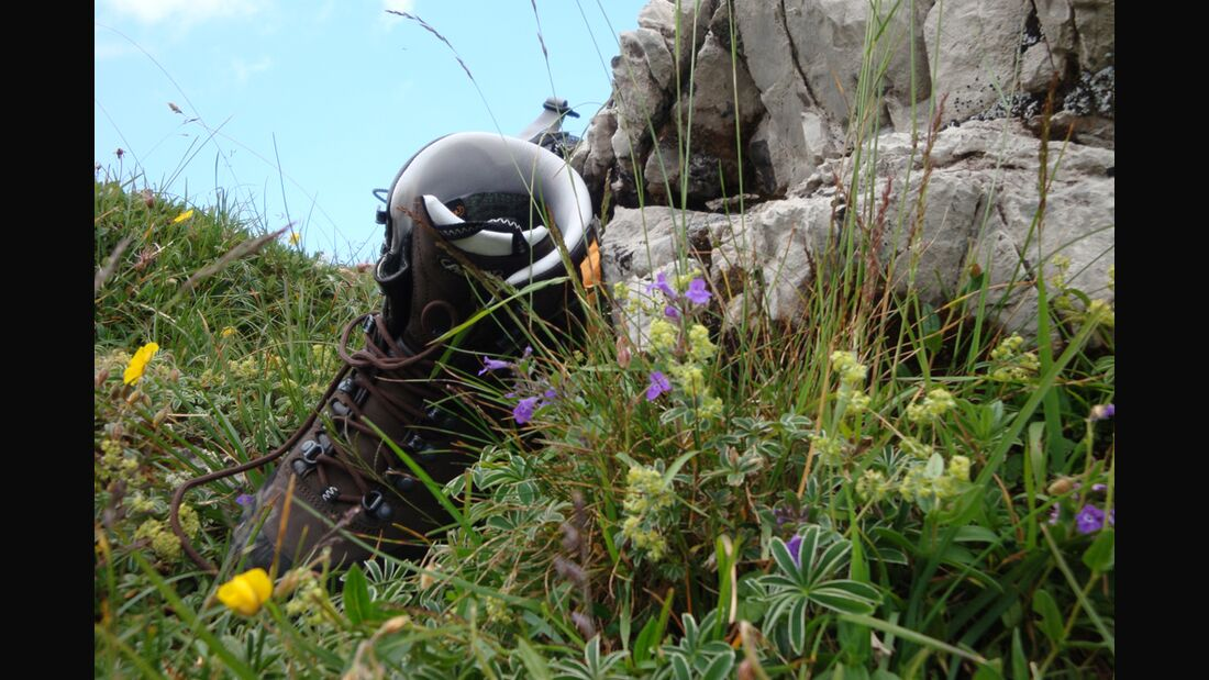 OD Bergstiefeltest 2011 Grüne Wiese Öko
