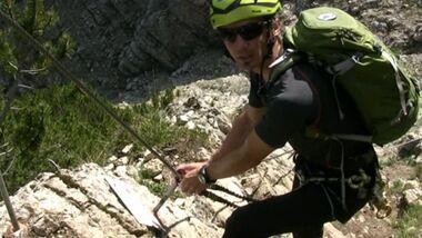 OD Bergstiefeltest Klettersteig 2011