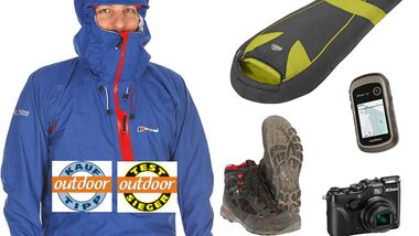 OD Best of Test 2012 Kauftipps Testsieger Outdoor-Produkte Teaser