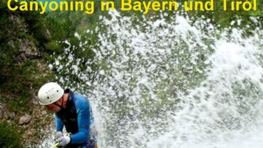 OD Buchtipp Canyoning in Bayern und Tirol
