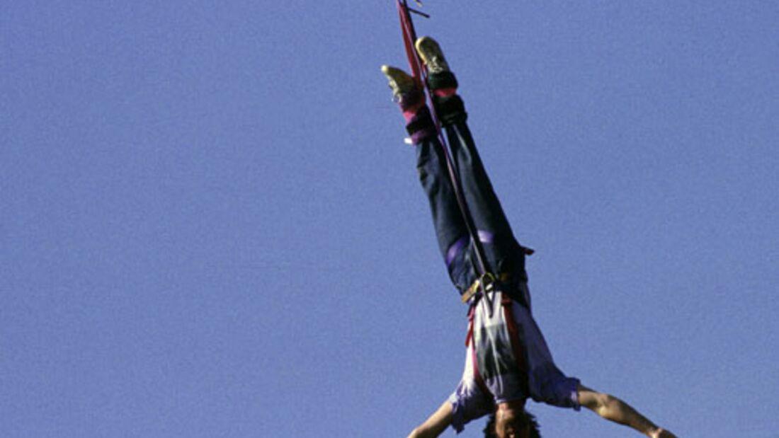 OD Bungee Jumping - die spektakulärsten Sprünge