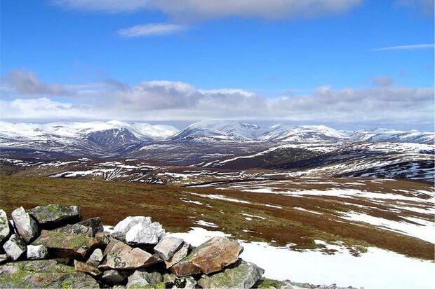 OD Cairngorms Schottland Berge