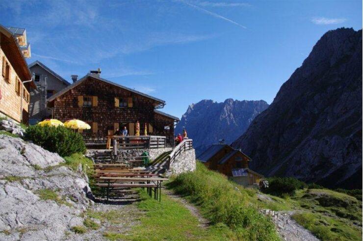 OD Coburger Hütte Mieminger Kette Tirol