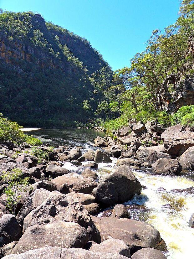 OD Colo River Australien Sydney Wildnis