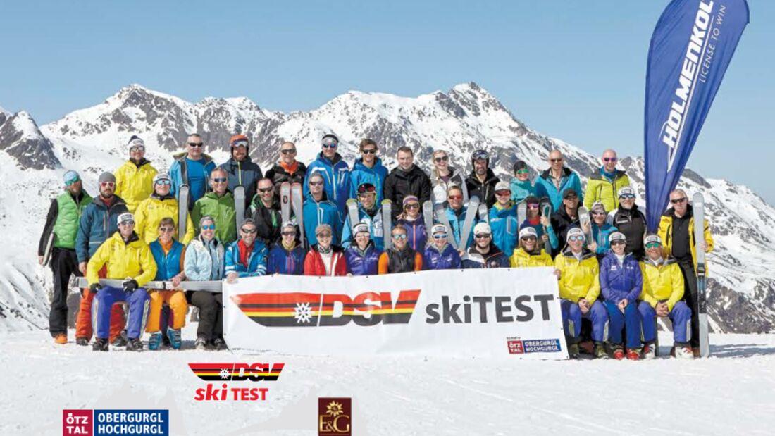 OD DSV Skitest 2018 Gruppenbild Aufmacher - mit Logos