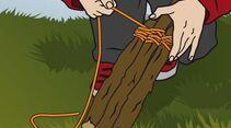 OD Das eigene Floß bauen: Holzruder