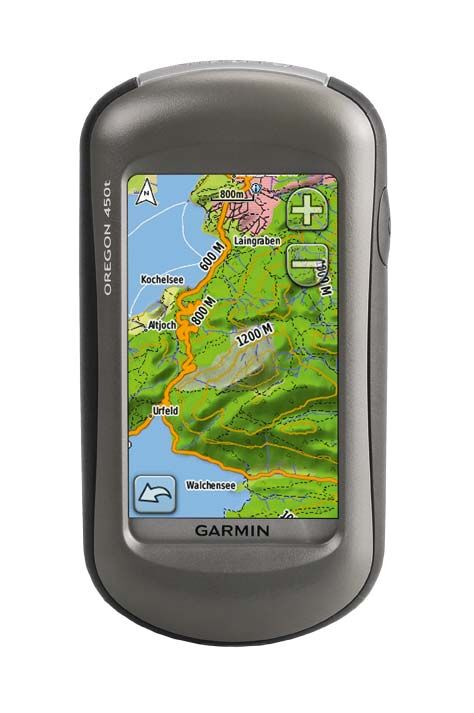 OD Editor´s Choice: GPS-Gerät - Garmin Oregon 450T