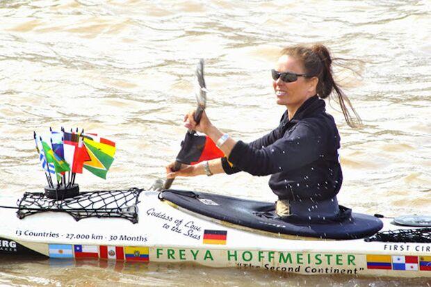 OD Freya Hoffmeister Kajak Paddeln Südamerika