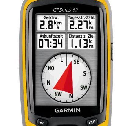 OD GPS-Gerät  Garmin GPSmap 62