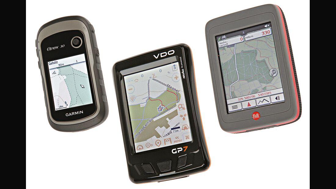 OD GPS-Geräte Test 2012 Aufmacher