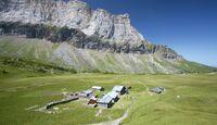 OD GR 5 - Refuge von Alfred Wills auf dem Anterne-Plateau