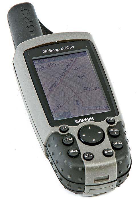 OD Garmin GPSmap 60CSx