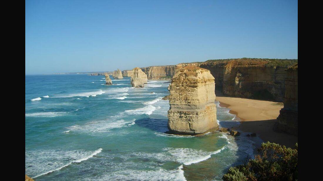OD Great Ocean Walk Twelve Apostels Victoria Australien