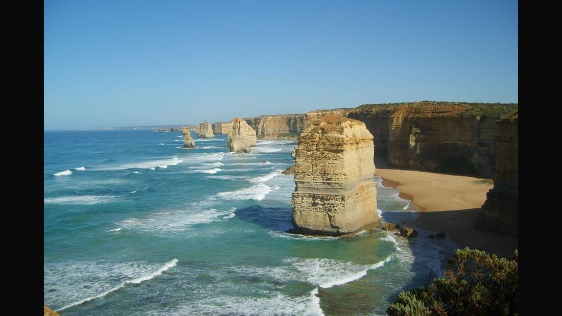 OD Great Ocean Walk Twelve Apostels Victoria Australien