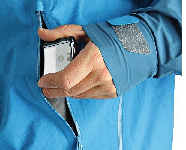 OD Jackentest Detail: Taschen, die sinnvoll plaziert sind