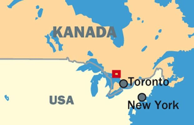 OD Kanada Killarney Provincial Park - Lage