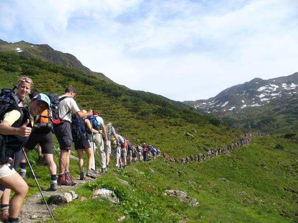 OD Klettersteig, Wandern, Trekking - Abenteuer in Tirol