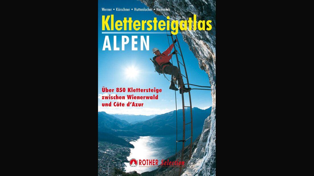 OD Klettersteigatlas Alpen Buchtipp