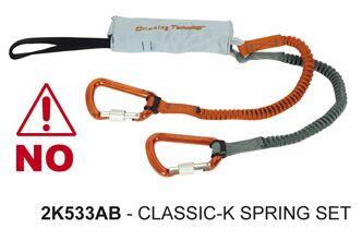 OD Klettersteigsets Rückruf 2012 CT Classic K-Spring Set klein