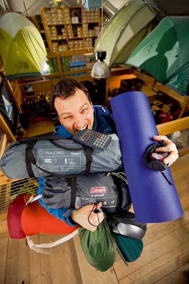 OD Knallhart kalkuliert - Camping Ausrüstung