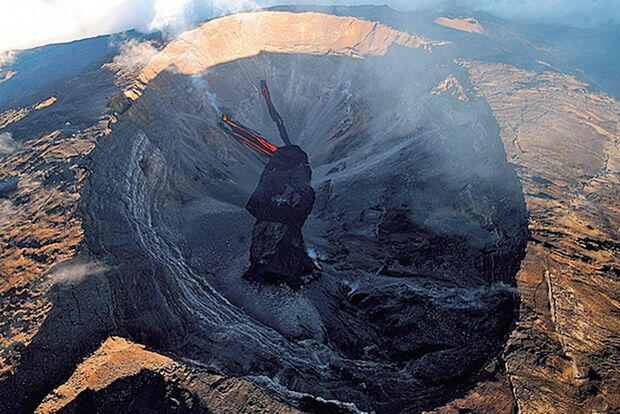 OD La Reunion Frankreich Krater