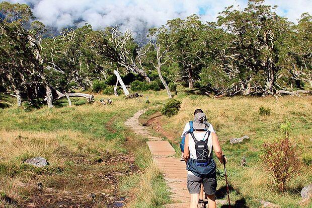OD La Reunion Wanderweg
