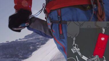 OD Mammut Rescyou Spaltenrettung Ausrüstung Ski Sicherungsgerät Videoteaser