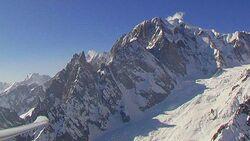 OD Mont Blanc Alpen Berge