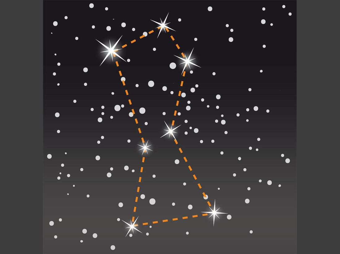 OD Navigation mit den Sternen: Hilfe aus dem Weltall 2