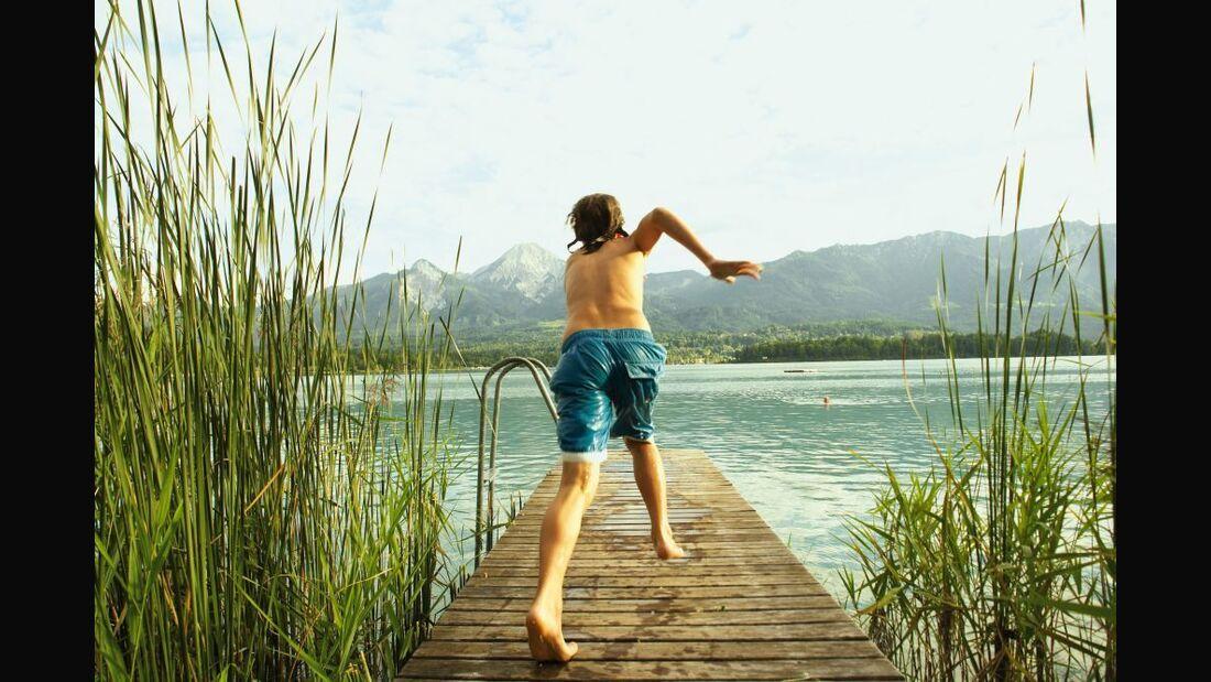 OD Österreich Alpensee Faaker See