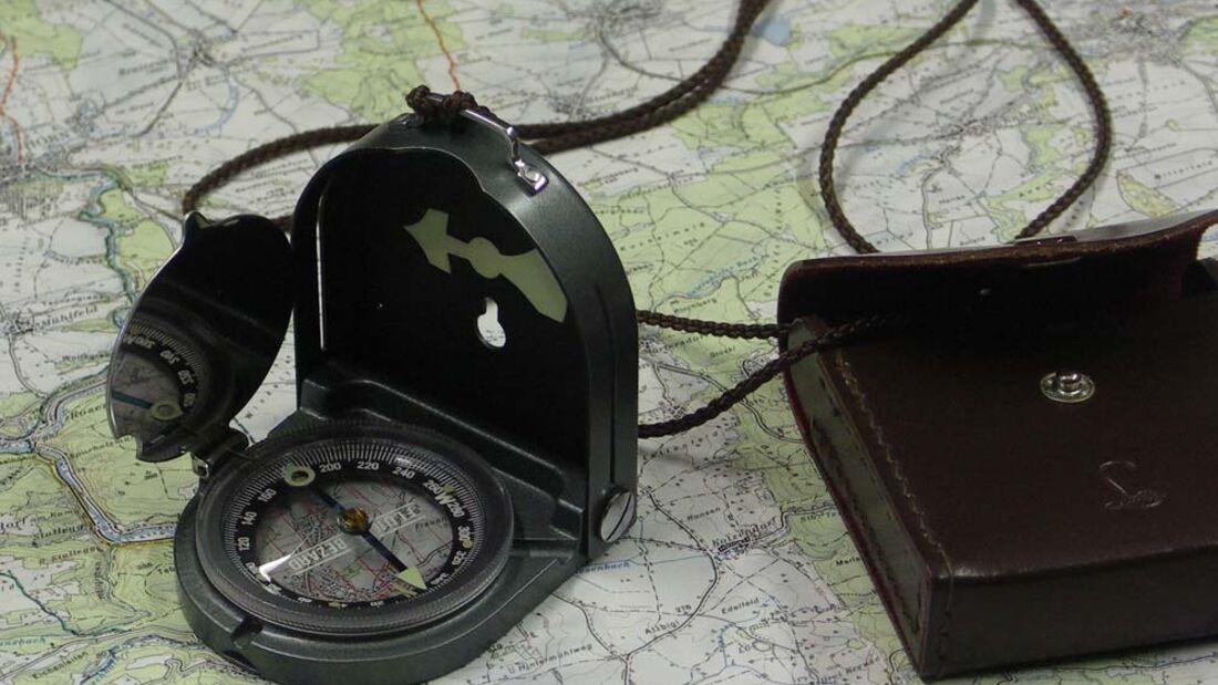 OD Orientierung Kompass Karte Tourenplanung pixelio