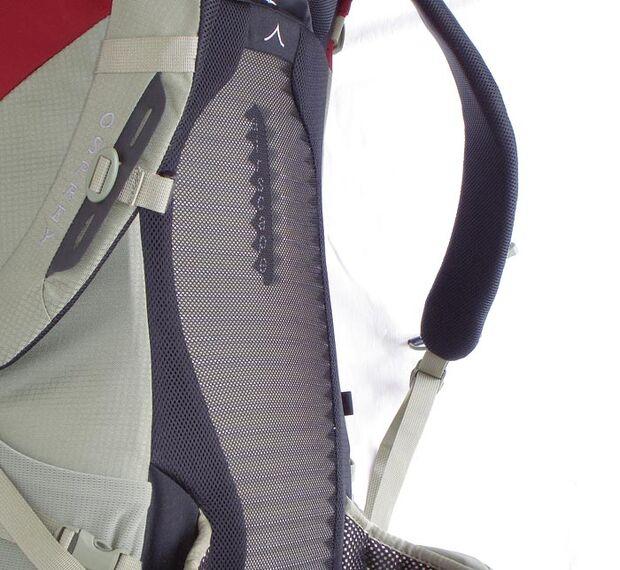 OD Osprey Kestrel 38 - Ventilationsrücken