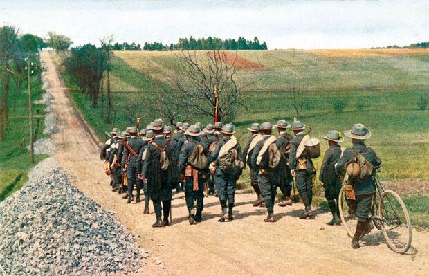 OD Pfadfinder vor 1914