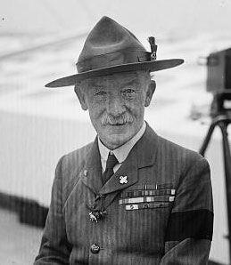 OD Pfadfindergründer Robert Baden-Powell
