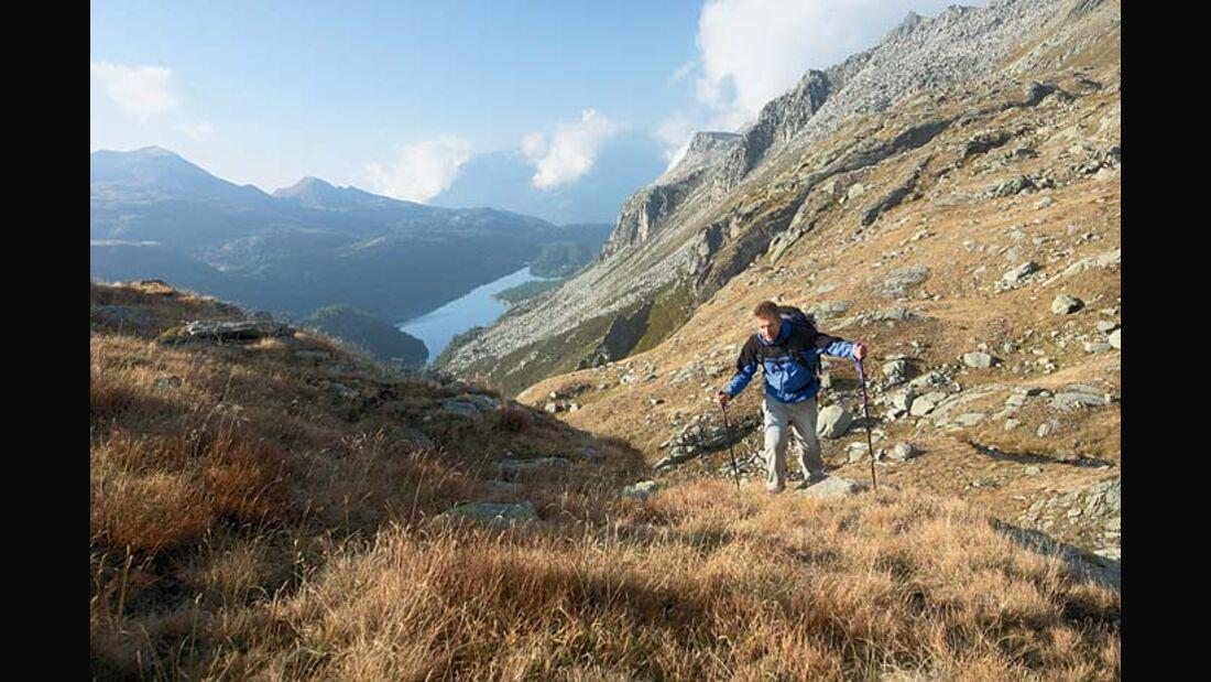 OD Piemont Wanderung von der Alpe Devero zur Alpe Veglia