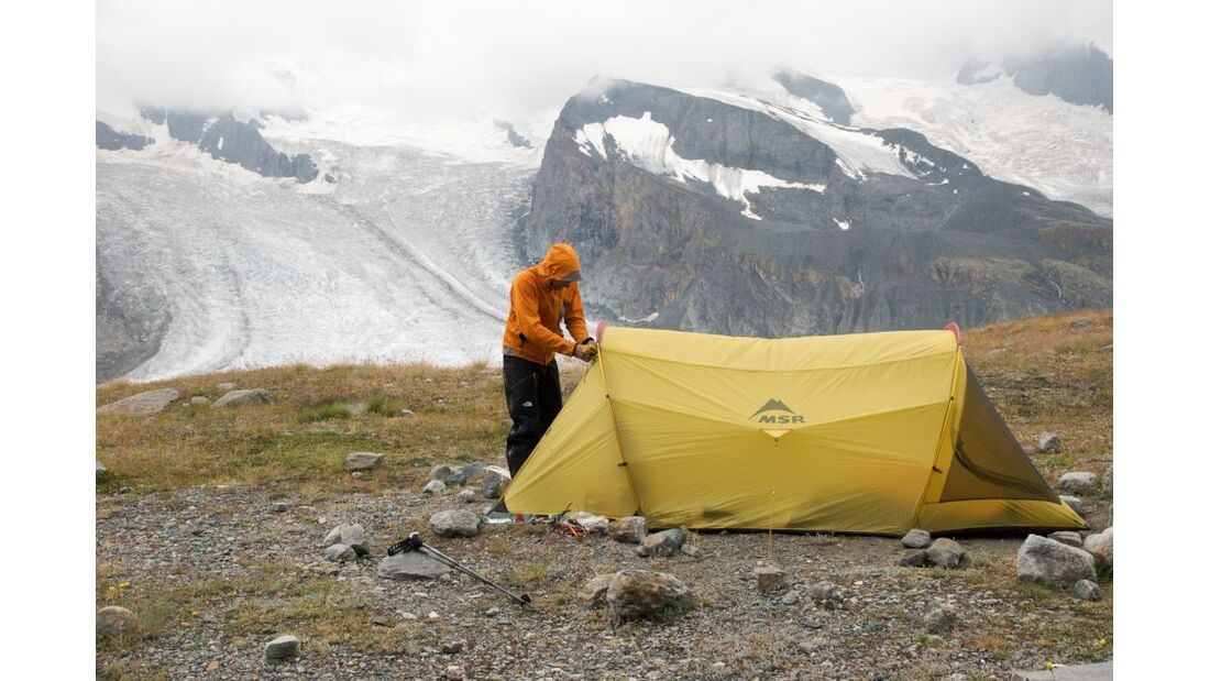 OD Praxistest Zelt