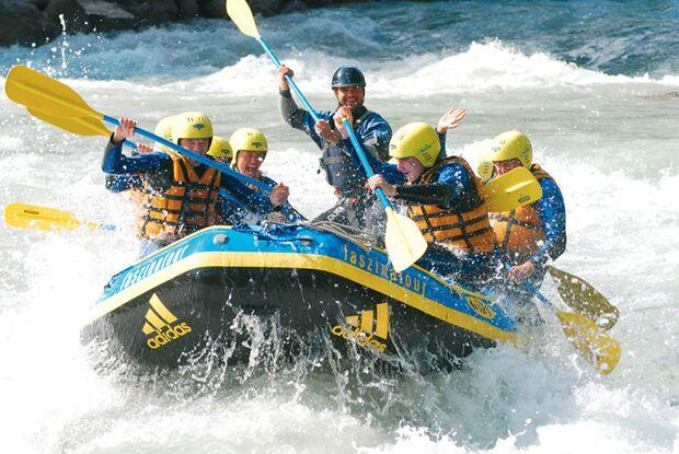 OD Rafting Action-Wochenende Faszinatours