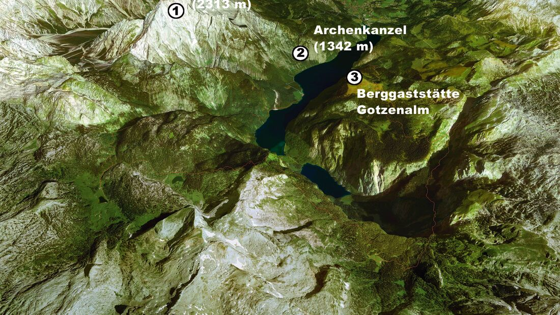 OD Reality Maps Watzmann