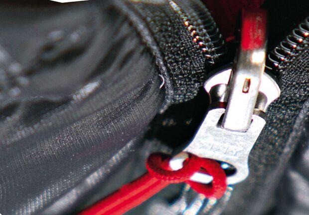 OD Reissverschluss Detail Zipper