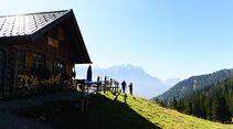 OD SH Bayern 2015 Garmisch Partenkirchen Wandern Wank Kramerspitz Wettersteingebirge Bayerische Alpen