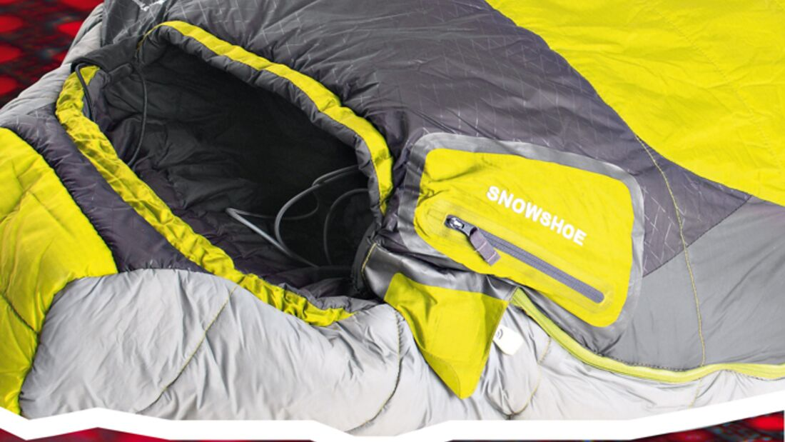 OD Schlafsack North Face Snowshoe