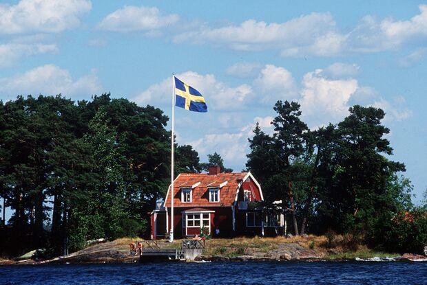 OD Schweden Sommer Haus