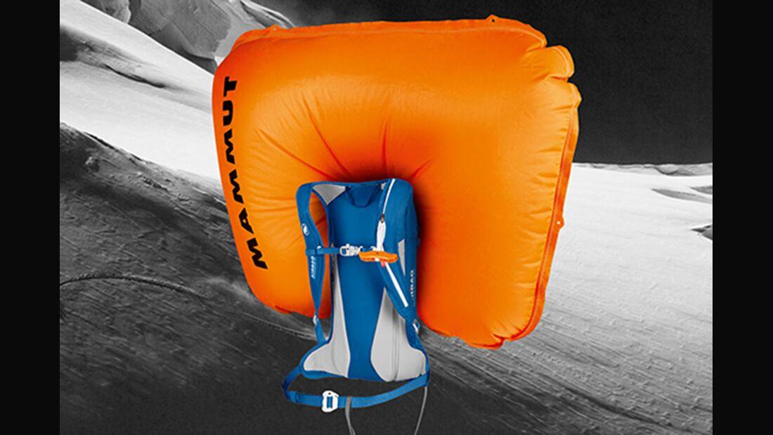 OD Service Kontrollauftrag Lawinenairbags Mammut Airbag 3.0
