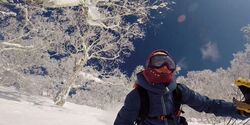 OD Skifahren in Japan Lena Stoffel