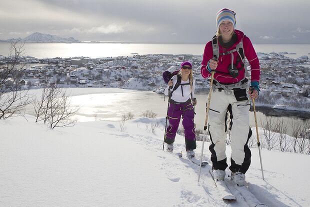 OD Skitour Lofoten Inseln Norwegen