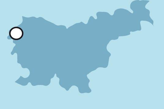 OD Slowenien Soca Paddeln Karte