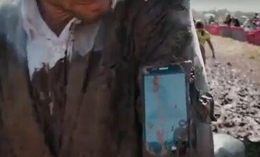 OD Smartphone Sony Xperia Z im Outdoor-Einsatz