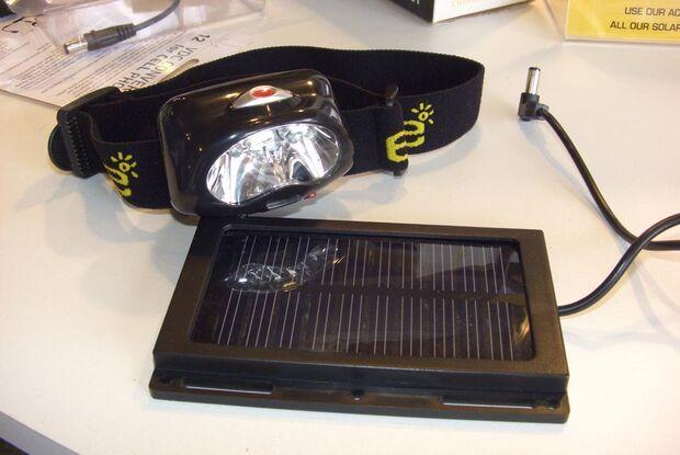 OD Solar Headlamp