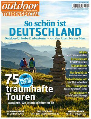 OD Sonderheft 2014 Titel Magazin Cover Deutschland Tourenspecial